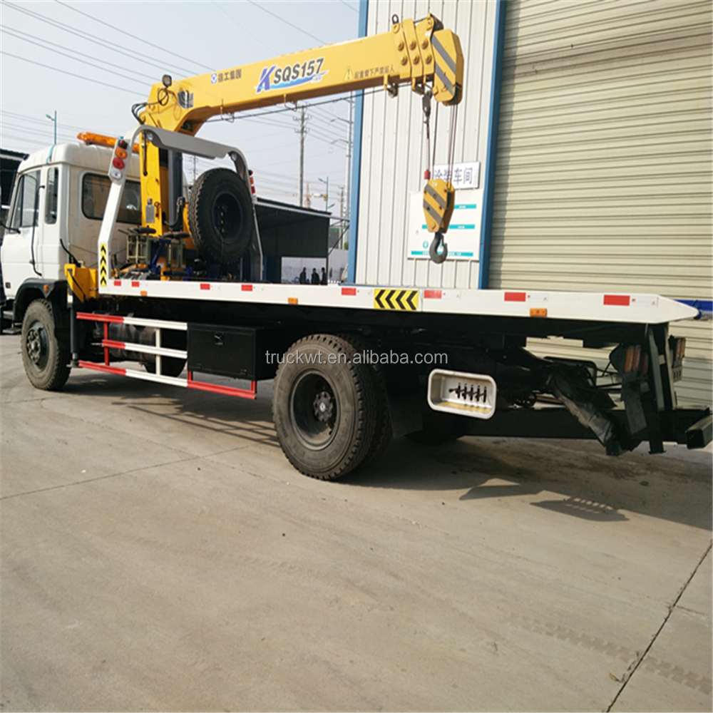 good sales dongfeng 153 8Ton tow truck for sale philippines