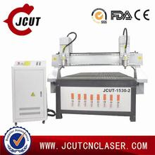 High effiency cnc stamping product JCUT-1530B-2(two heads)