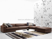 modern home furniture soft sofa set with stool furniture and home decoration