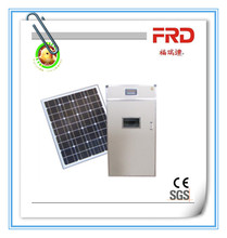 FRD-528 Solar power Automatic egg incubation/capacity 500 chicken eggs incubator for poultry farms