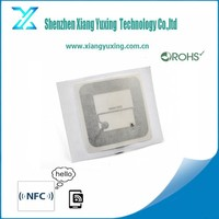 factory wholesale wet / dry UHF rfid inlay 860-960mhz , HF rfid inlay 13.56mhz