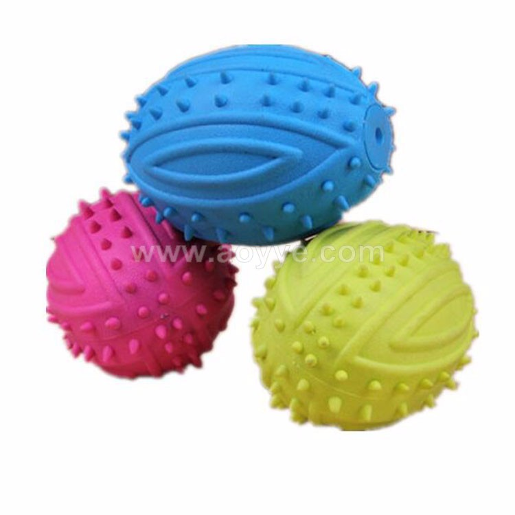 Pet dog cat toys Mine rubber ball