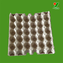 Nontoxic best price 30 chicken eggs paper pulp tray paper egg tray factory in China