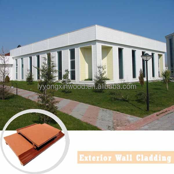 Ecological Wood-plastic Composite WPC Exterior Wall Panel