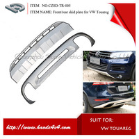 OE Style front rear skid plate cover for vw touareg