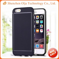 Armor soft TPU cell phone case protective for iPhone 6 plus