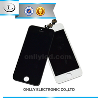 original new high quality assembly front glass touch screen lcd digitizer for iphone 5
