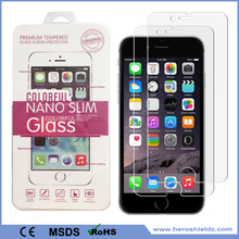 "Manufacture For iPhone 7 plus Tempered Glass Screen Protector Anti Fingerprint 9H 2.5D HD Clear Anti-Scratch (2 Pack 5.5"")"