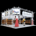Detian Display offer exhibition booth display stand, design exhibition stands design system for expo booth