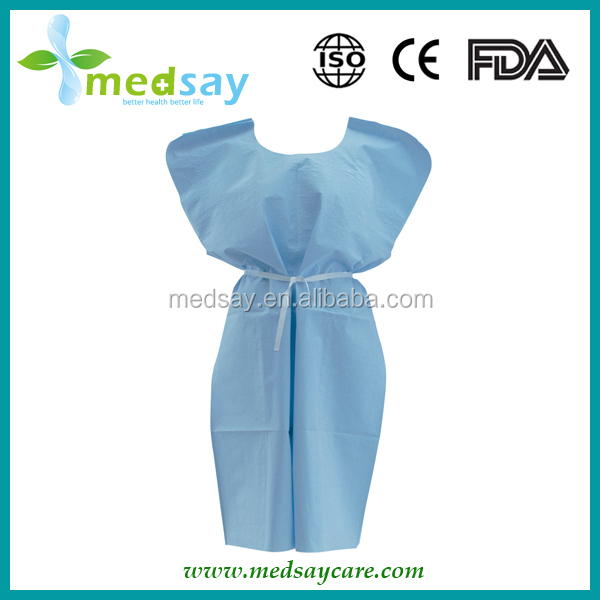 Medical disposable non woven patient exam capes