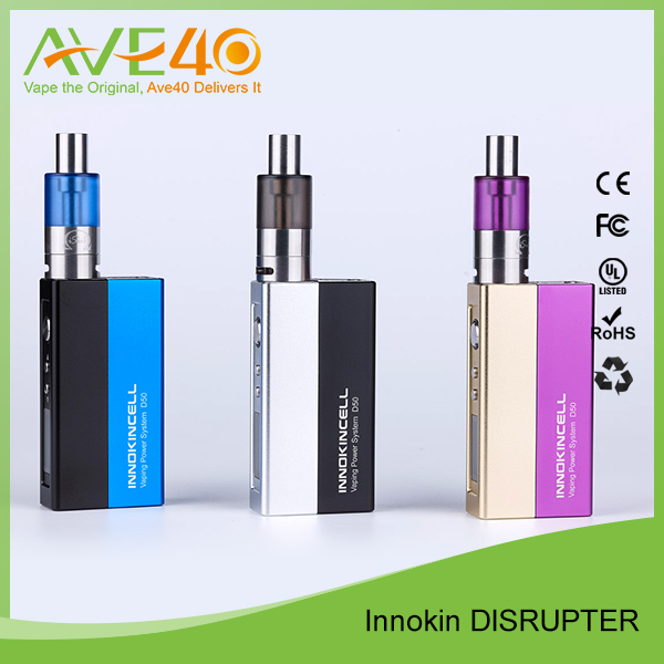 Original Innokin Vape Kit Disrupter 50watt VV/VW Box Mod 2000mah Innocell Innokin Disrupter Mod Wholesale