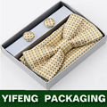 Tie fabric clothing paper packing box