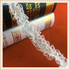 2016 Hot sales Chic beaded lace /stretch lace with beads for kid's dresses decoration