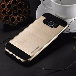 NEW brushed S7 edge / S7 cases Hybrid Armor silicone plastic 2 in 1 case For samsung galaxy S7 edge / S7 phone cover