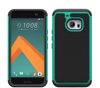 Anti falling cell phone case for htc one m10 2 in 1 PC+silicone Armor Case For HTC one m10