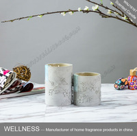 different sizes concrete jars natural soy wax candle