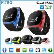 Factory + Pedometer/Caller ID smart phone watch for amsung galaxy S6/s6 edge for nokia 920 nexus 4 5 G2 G3