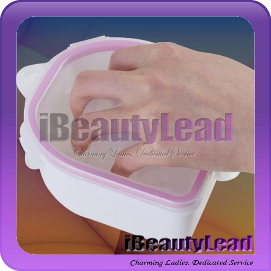 Double Layer Thickening Foam Hand Manicure Bowl Finger Tips Soaker Remover Treatment nails supplies for Nail Treatment