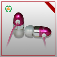 Best Cheap Colorful metal wired earphone from good supplier