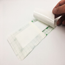 Transparent Breathable Waterproof Medical Wound Dressing