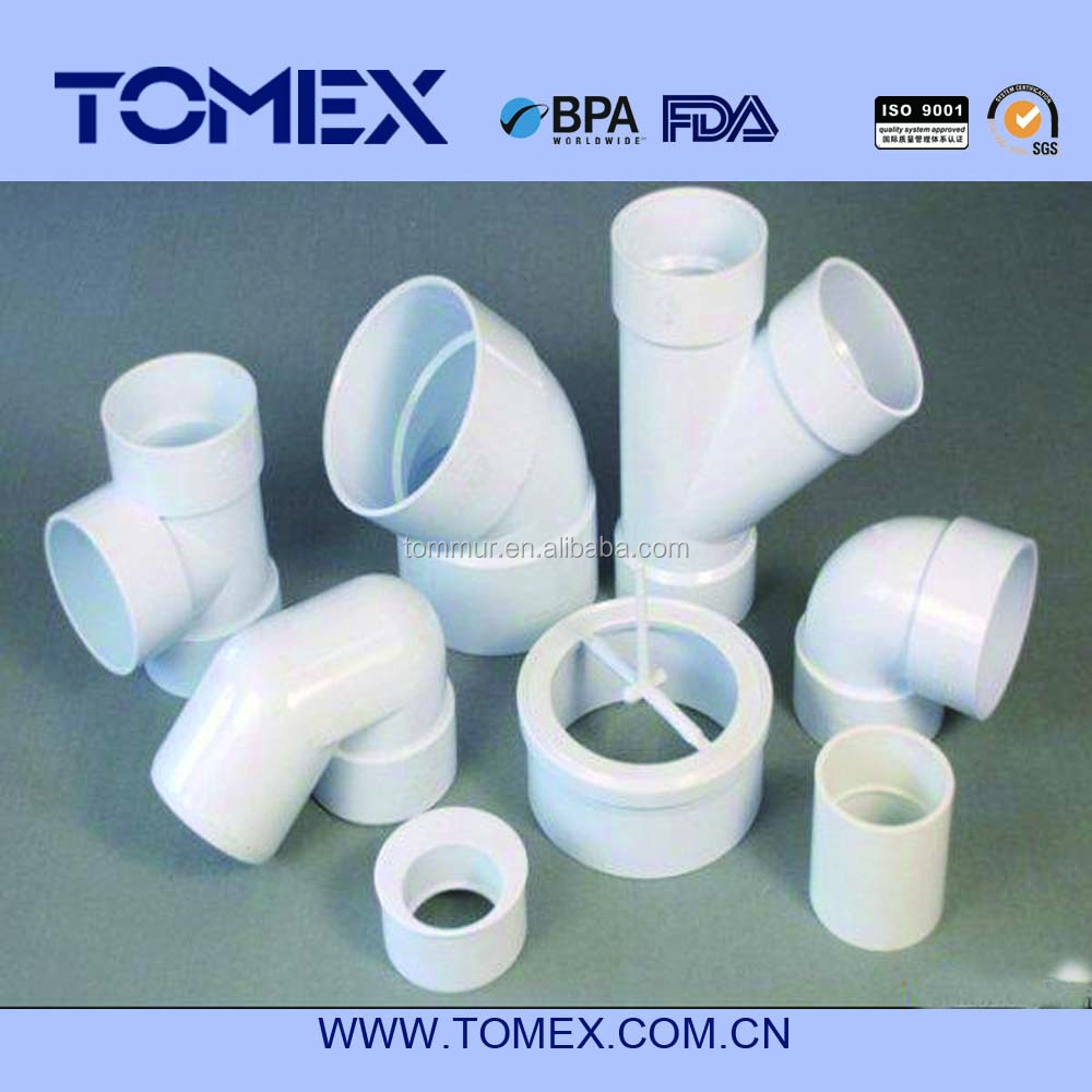 pvc pipe and fittings/pvc pipe fittings/upvc pipe fitting price for water,drain