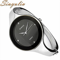 Top brand Kimio Watch Women Luxury Dress Full steel Watches fashion casual Ladies quartz Bracelet watch Female table clock