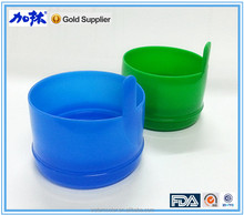 Non-spill bottle cap/lid/closure for 5 gallon water bottle
