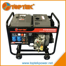 2016 hot sale diesel generator 5kw cheap portable generators