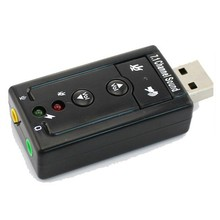 Factory supply OEM ODM 7.1 channel USB sound card for sale