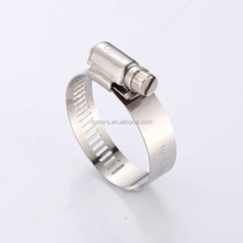 High Pressure American German Type Stainless Steel Worm Drive Gear Spring Pipe Hose Clamp