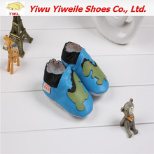 wholesale 2014 new style baby leather outer soles shoes for kvoll shoes