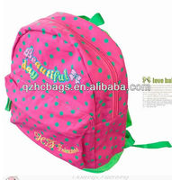 2013 fancy child school bag with full color printing