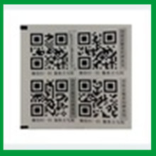 Customized High Recognition Printed Barcode and 2-dimension Code Label