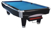 Good quality MDF ball return pool table for sale,fashion snooker table from Shenzhen double Star