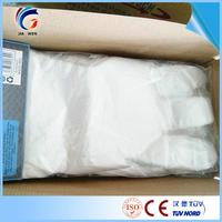 Brand new disposable transparent plastic gloves