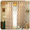 YX-17-039 High quality blackout curtain hotel sheer 100% polyester knit hotel curtains
