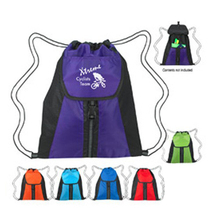 Vertical Drawstring Backpack Bag Drawstring Backpack