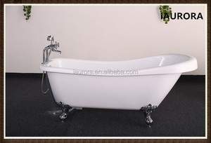 Cheap acrylic antique tin bath tub