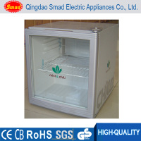 smad mini bar refrigerator mini promotional fridge glass compact fridge