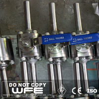 WFE Forged A105 Stainless Steel BW SW Floating Ball Valve