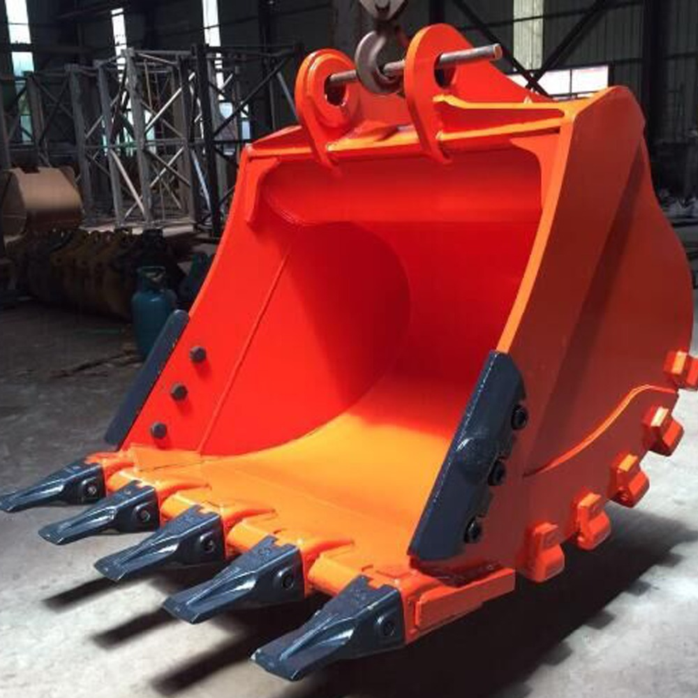 hydraulic crawler 25 ton excavator rock bucket