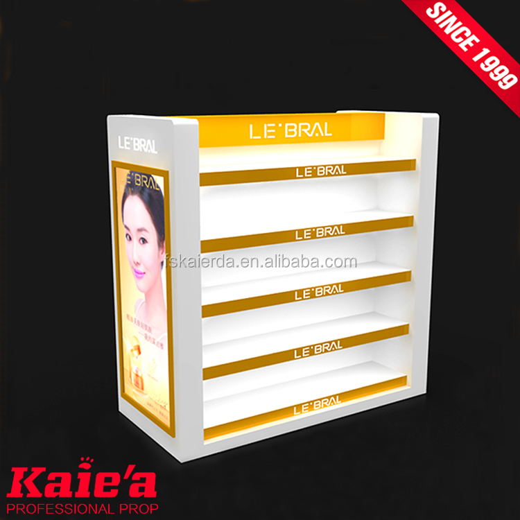 Quality assurance wall cosmetic cabinet cosmetic display cabinet