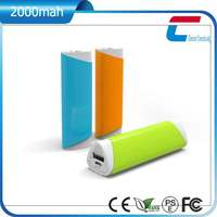 Mobile Phone Accessory Emergency Power Bank 2000mah