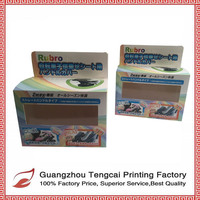 Hot selling false eyelash packaging boxes with window and logo
