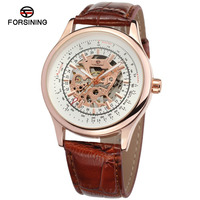 High end Designer Watches Wholesale With Rose Gold Skeleton , Mechanische Uhren