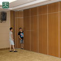 Sound Insulated movable partition for banquet hall
