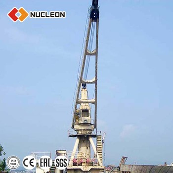 25t JIb Deck Crane Jib Crane on Deck Board of Nucleon