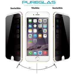 Wholesale mobile phone accessories 2016 color privacy screen protector for Apple iPhone 6 4.7