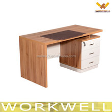 WorkWell Office furniture supply modern classic cherry wooden standard office desk with drawers Kw-Z05