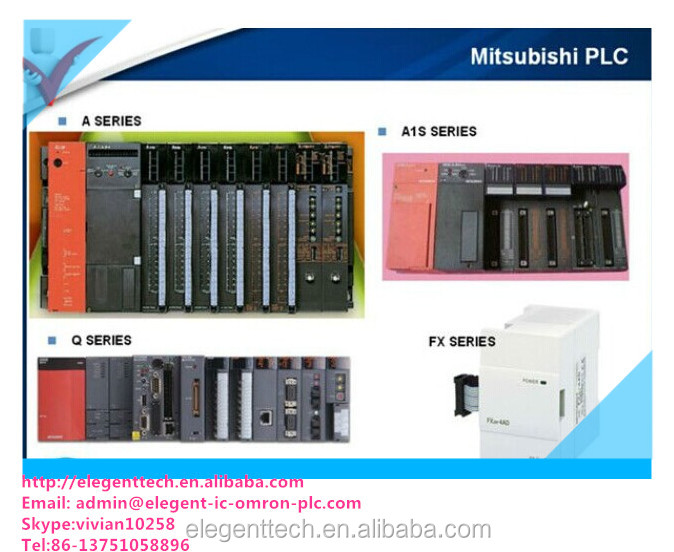 Mitsubishi plc for factory automation by Japan made
